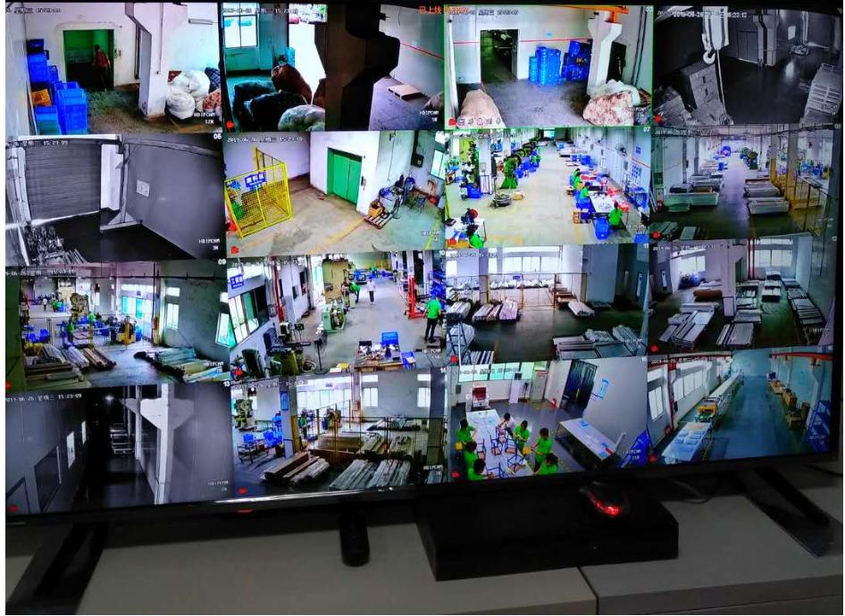 工厂监控安装工程