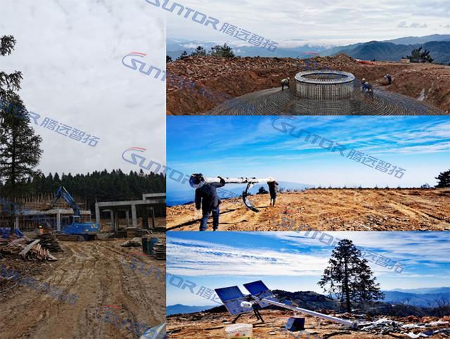 湖南某风力发电站远程无线监控案例