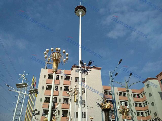 中山市工业区城市治安无线监控案例
